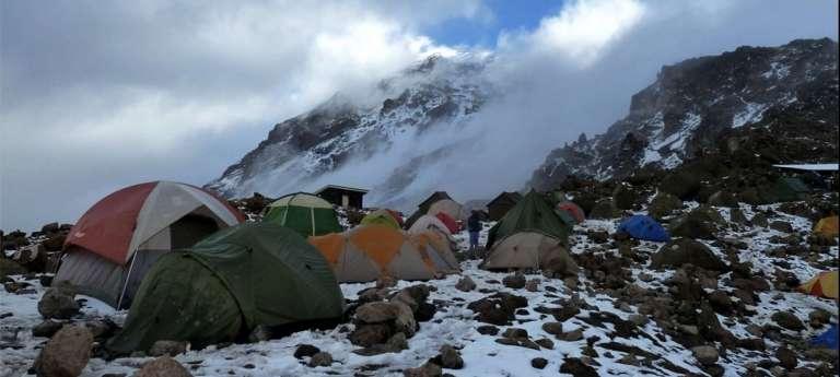 Day 4: Shira (3840m)-Lava Tower (4630m)-Barranco camp (3950m)