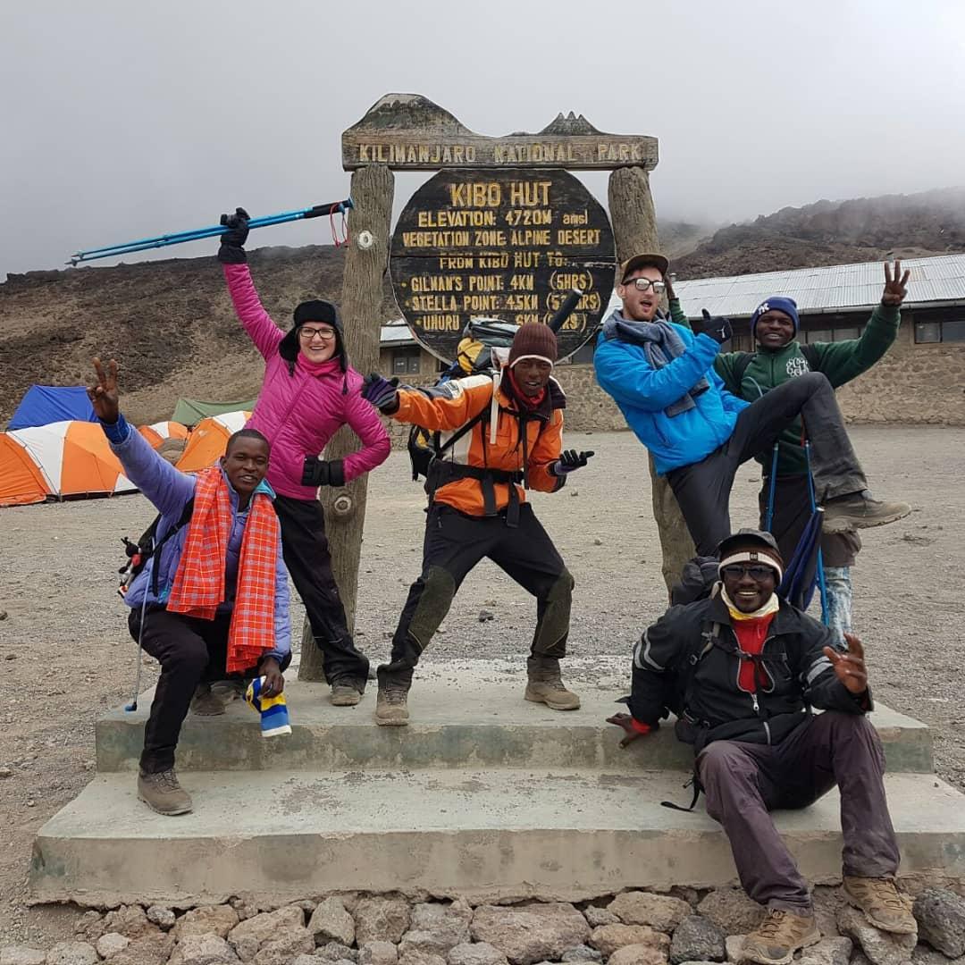 Day 5: Horombo Huts (12,000 ft) – Kibo Huts (15,500 ft)