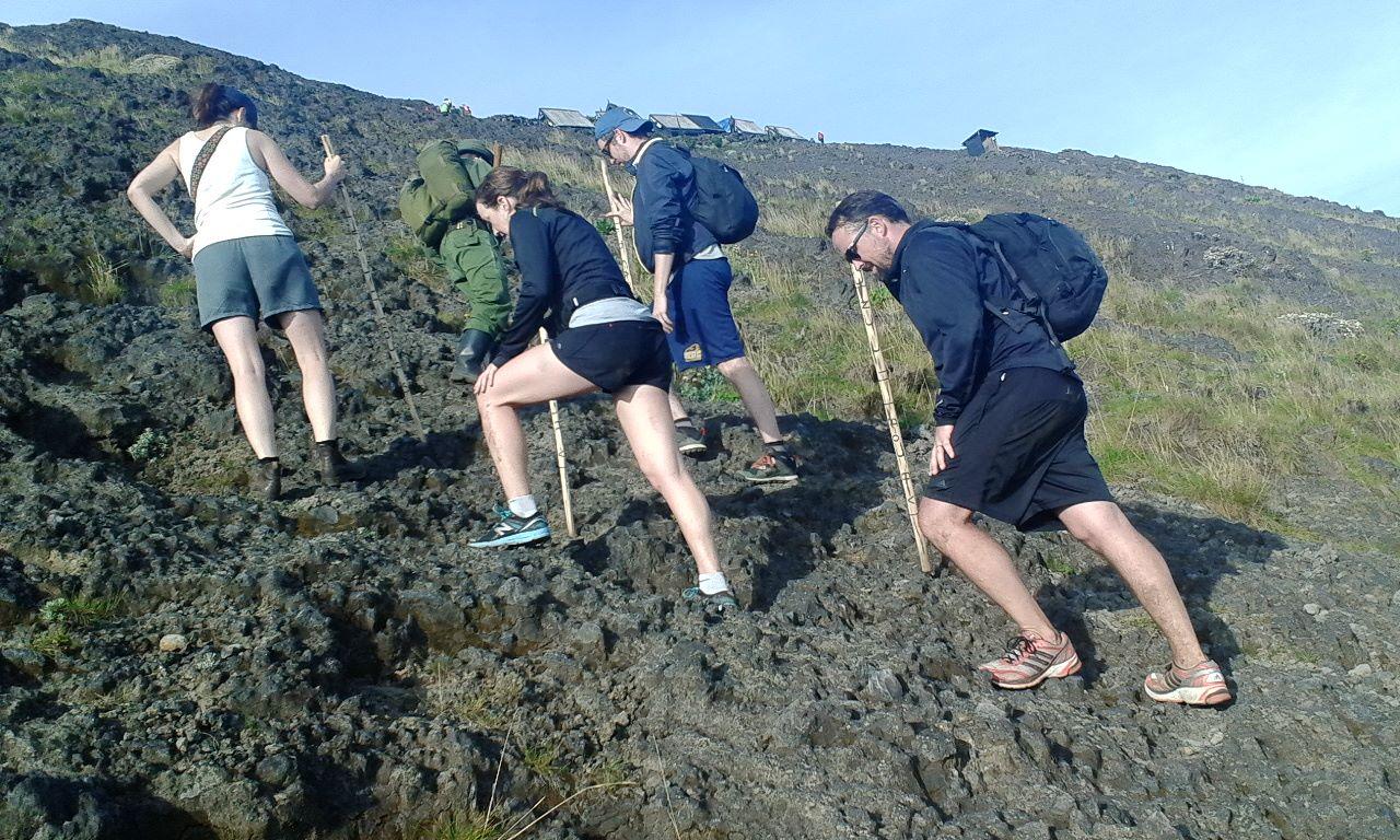 Day 1: Nyiragongo Volcano hiking