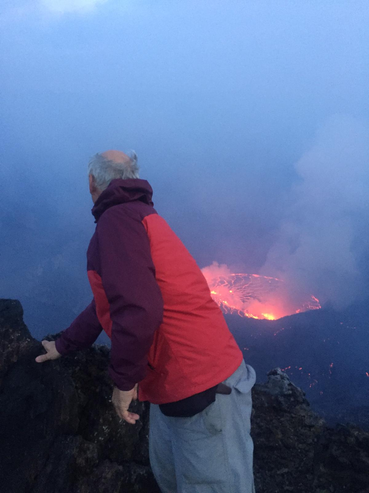 Day 2: Nyiragongo Volcano descent and departure