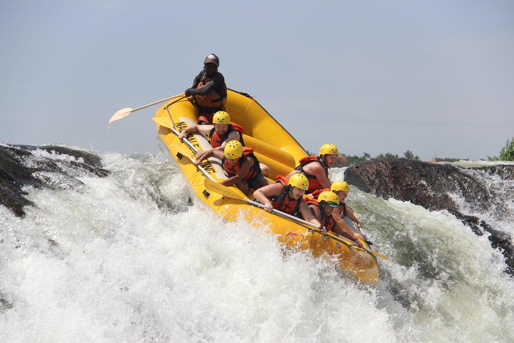 Day 2: White Water Rafting