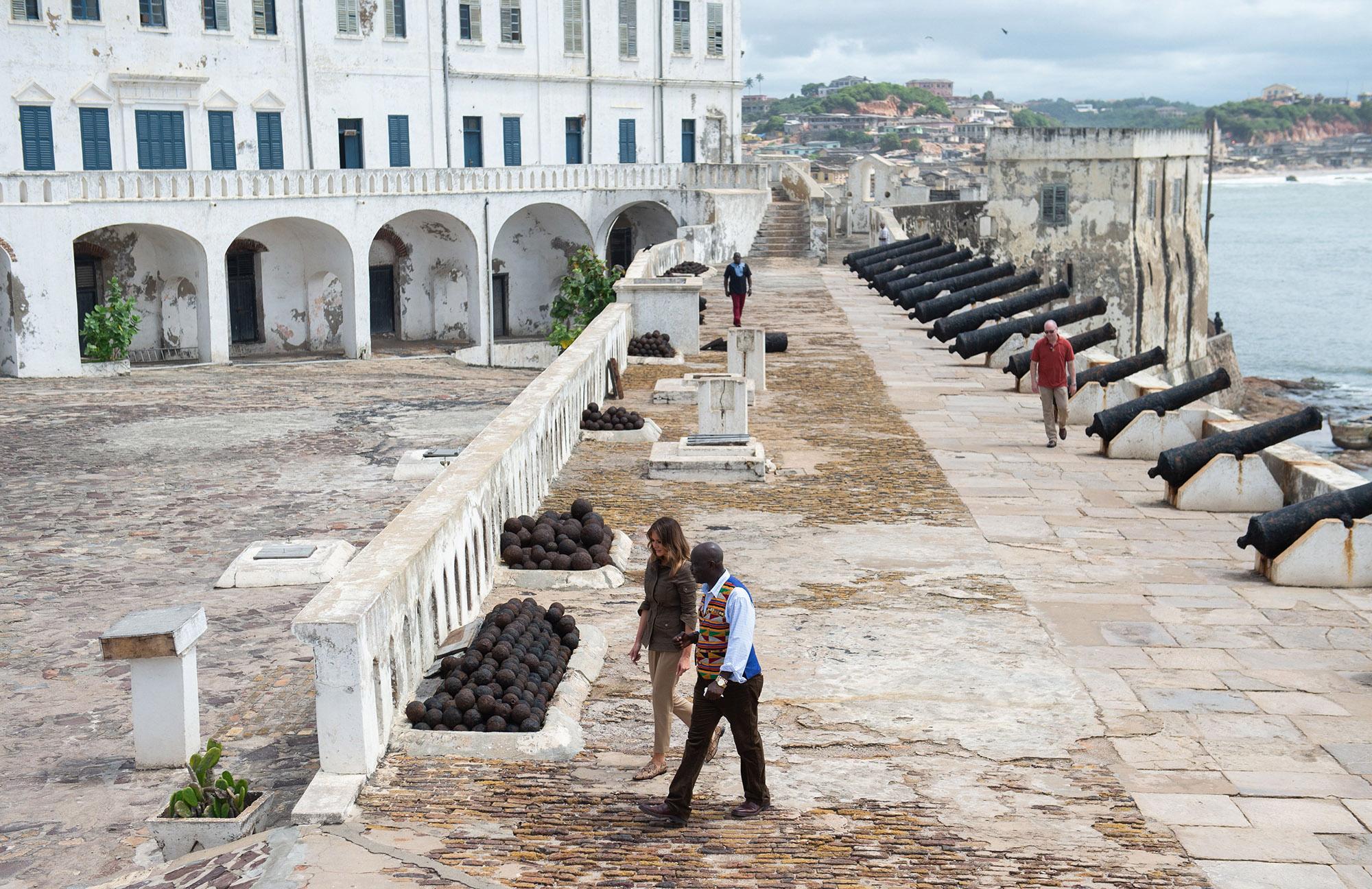 Day 6…    Cape Coast Castle - Elmina Castle.